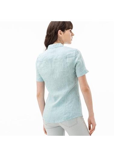Lacoste Kadın  Gömlek CF5649K.CCV Yeşil